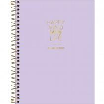 Imagem - Planner Espiral Happy Lilás 2020