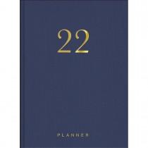 Imagem - Planner Executivo Costurado 13,4 x 19,2 cm Lume 2022 - Azul Marinho - Sortido