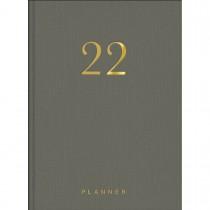 Imagem - Planner Executivo Costurado 13,4 x 19,2 cm Lume 2022 - Cinza - Sortido