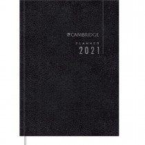 Imagem - Planner Executivo Costurado 14,5 x 20,5 cm Cambridge Set 2021