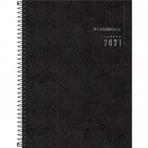 Imagem - Planner Executivo Espiral 20 x 27,5 cm Cambridge 2021