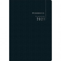 Imagem - Planner Executivo Grampeado 17,8 x 25,4 cm Cambridge 90 Gramas 2021