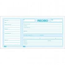 Imagem - Recibo Comercial Com Canhoto 100 Folhas (Pacote com 10 unidades)