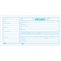 Imagem - Recibo Comercial Com Canhoto - 100 Folhas (Pacote com 10 unidades)