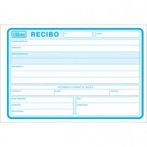 Imagem - Recibo Comercial Sem Canhoto Grande 50 Folhas (Pacote com 10 unidades)