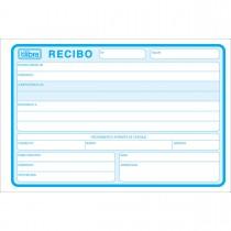 Imagem - Recibo Comercial Sem Canhoto Grande - 50 Folhas (Pacote com 10 unidades)