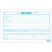 Imagem - Recibo Comercial Sem Canhoto Pequeno 50 Folhas (Pacote com 20 unidades)