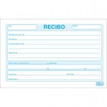 Imagem - Recibo Comercial Sem Canhoto Pequeno - 50 Folhas (Pacote com 20 unidades)