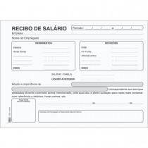 Imagem - Recibo De Salário - 100 Folhas (Pacote com 10 unidades)