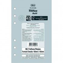 Imagem - Refil Free Planner Tilifax 96 Folhas Permanente