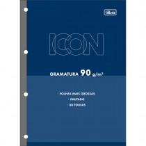 Refil Tiliflex para Caderno Argolado Universitário Icon 80 Folhas