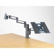 Imagem - Suporte de Mesa para 2 Monitores - Sistema SmartFit Kensington Duplo braço