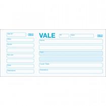 Imagem - Vale com Canhoto 100fls (Pacote com 20 unidades)