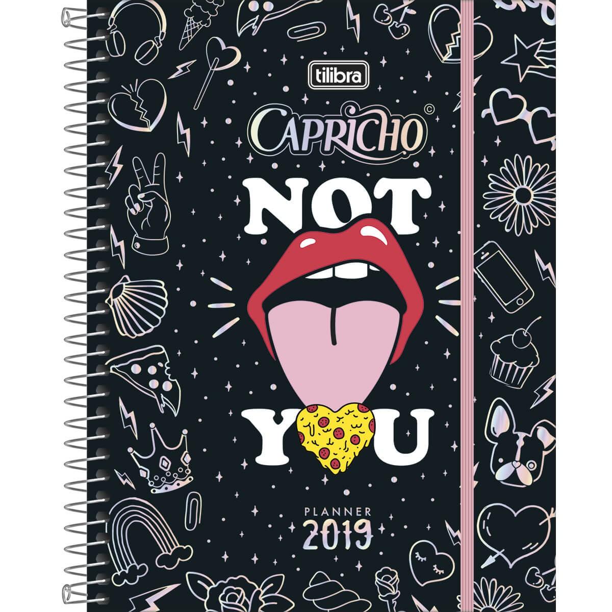2e933697f70ae Planner Espiral Capricho 2019
