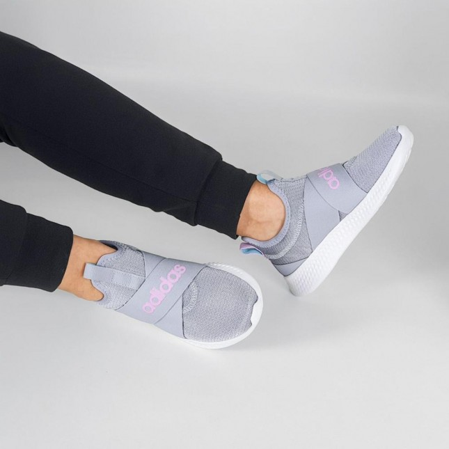 Tênis Adidas Feminino Puremotion Adapt Corrida sem Cadarço
