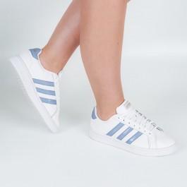 Imagem - Tenis Adidas Grand Court Branco / Azul