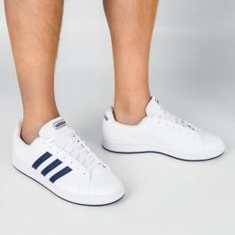 Imagem - Tênis Adidas Grand Court Base Branco / Azul