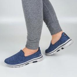 Imagem - Tênis Skechers Go Walk 5 Super Sock Marinho