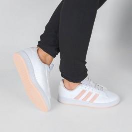 Imagem - Tênis Adidas Grand Court Base Branco / Rosa