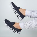 Tenis Skechers Go Walk 5 Super Sock Preto