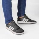 Tênis Adidas Hoops 2.0 Preto / Cinza