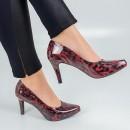 Sapato Usaflex Ac3802 Vermelho