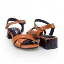 Sandalia Comfortflex 2067402 Caramelo