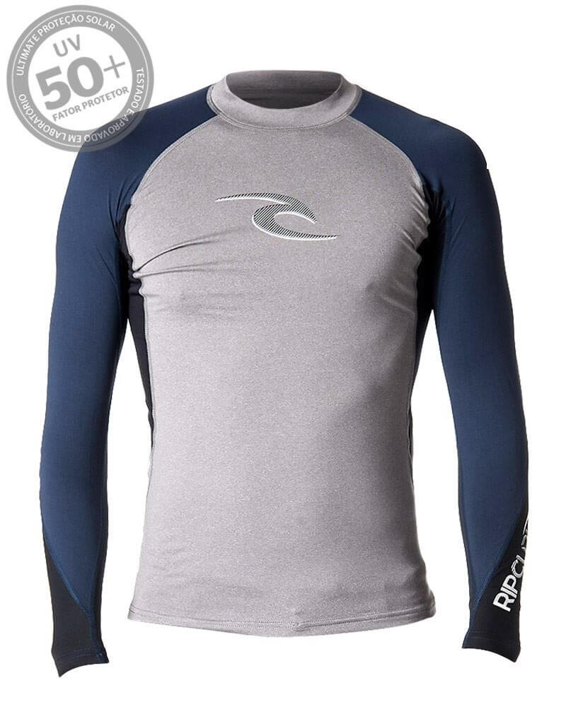 d5aec86ec4 Camiseta de Lycra Rip Curl wave M L 50+ UV