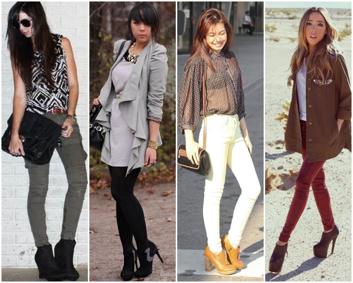 looks com ankle boot