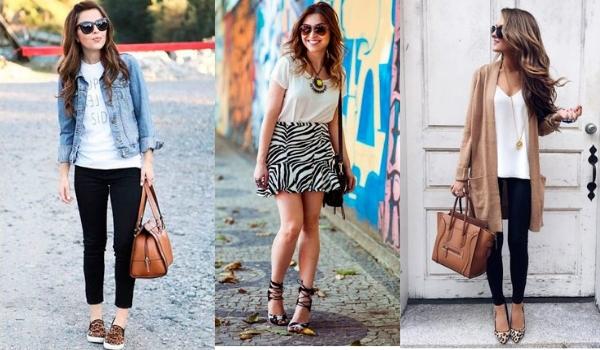64356f083 Os calçados Animal Print podem ser usados com todas as cores de roupas,  eles trazem a produção um ar moderno e fashion.