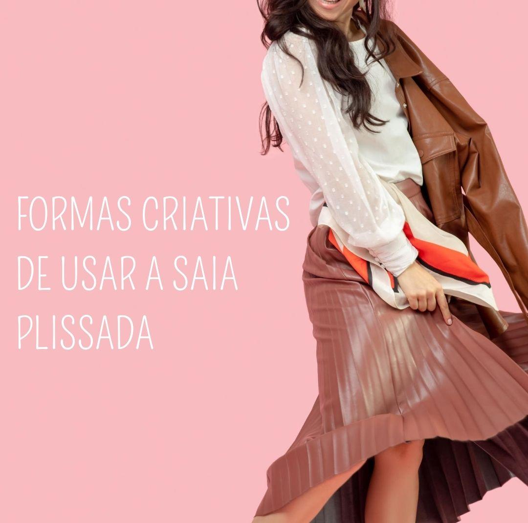 Imagem - Formas criativas para usar sua saia plissada favorita!