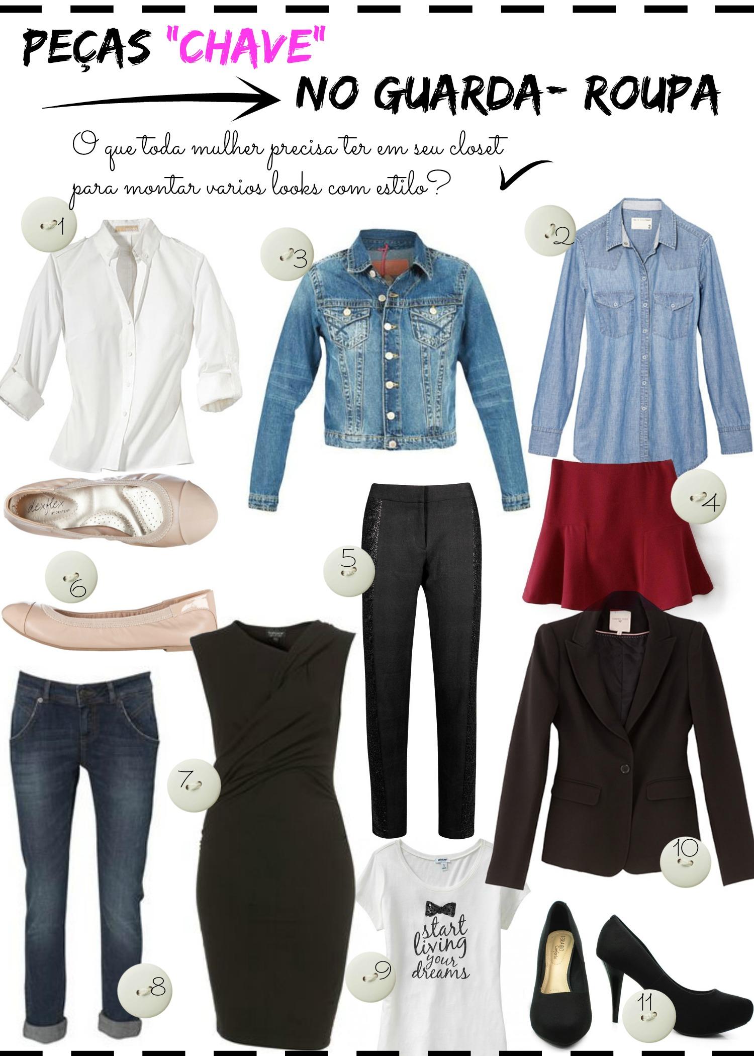 Imagem - 11 peças essenciais no guarda roupas das mulheres
