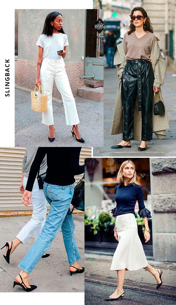 Imagem - Como usar sapatos slingback