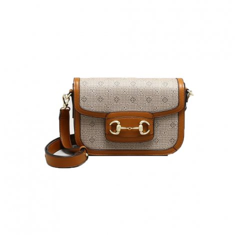 Bolsa Feminina Shoulder Bag Capodarte Monograma