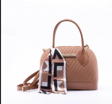 Bolsa Tote com Lenço Giulia Bardo