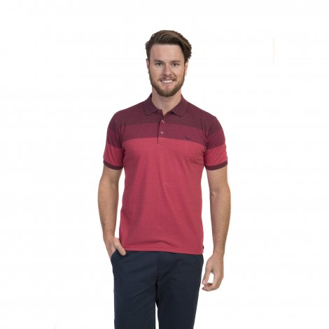 Camiseta Polo Masculina Degradê Oracon