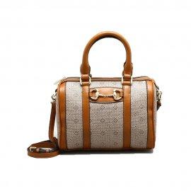 Imagem - Bolsa Feminina Capodarte Doctor Bag Monograma