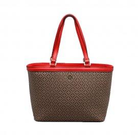 Imagem - Bolsa Feminina Shopper Capodarte Monograma