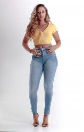 Imagem - Calça Chapa Barriga Black Jeans