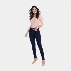 Imagem - Calça Feminina Jeans Lunender Skinny Cintura Alta