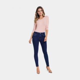 Imagem - Calça Feminina Jeans Lunender Skinny com Puídos