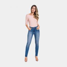 Imagem - Calça Feminina Jeans Lunender Skinny Destroyed