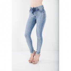 Imagem - Calça Jeans Bana Bana com Cadarço Skinny