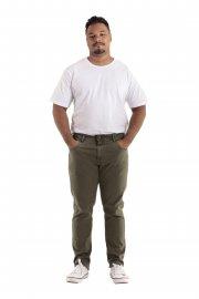 Imagem - Calça Jeans Black Jeans Masculina Verde