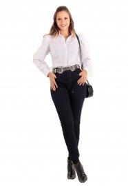Imagem - Calca Jeans Escuro Feminina Skiny Lunender