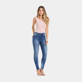 Imagem - Calça Jeans Feminina Chapa Barriga Skinny Lunender