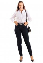 Imagem - Calca Jeans Feminina Cintura Alta Lunender skinny