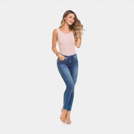 Imagem - Calça Jeans Feminina Lunender Skinny Chapa Barriga