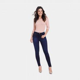Imagem - Calça Jeans Feminina Skinny Lunender Super Stretch