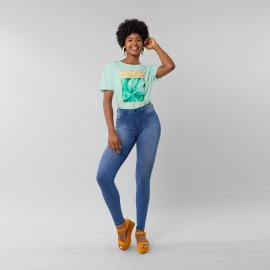 Imagem - Calça Jeans Feminina Lunender
